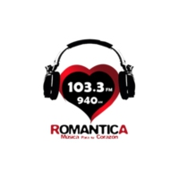 Logo of radio station XERKS Romántica 940 AM