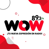 Logo of radio station XHMIA WOW 89.3 FM