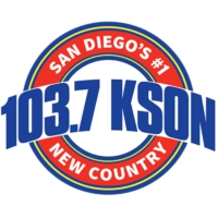 Logo of radio station 103.7 FM KSON