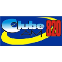 Logo of radio station Clube 820 AM