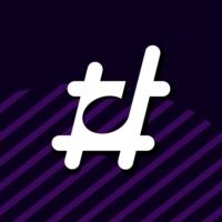 Logo of radio station Hashtag MX