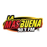 Logo de la radio XHBP La Más Buena 90.3 FM