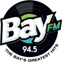 Logo de la radio KBAY 94.5 Bay FM