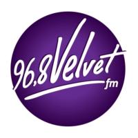 Logo de la radio Velvet 96.8 FM