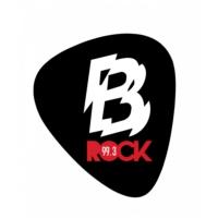 Logo of radio station 99.3 B-Rock FM