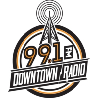 Logo of radio station KTDT-LP 99.1 FM Downtown Radio