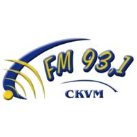 Logo of radio station CKVM 93.1 FM