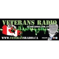 Logo of radio station VeteransRadio.ca