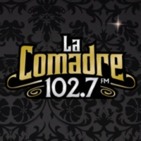 Logo of radio station XHDM-FM La Comadre 102.7