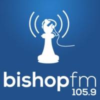 Logo of radio station 105.9 Bishop FM