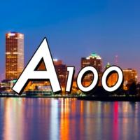 Logo de la radio A100