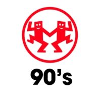 Logo of radio station MAXXIMUM 90's