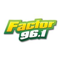 Logo de la radio Factor 96.1 FM