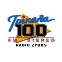 Logo of radio station Rádio Zygós 100 - Ράδιο Ζυγός 100
