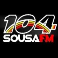Logo of radio station Rádio 104 Sousa FM