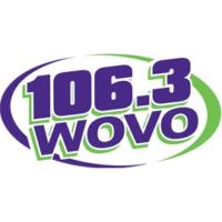 Logo de la radio WOVO 106.3