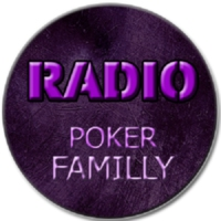 Logo of radio station radio poker familly