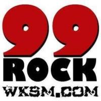 Logo de la radio WKSM 99ROCK