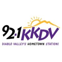 Logo of radio station 92.1 KKDV