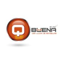 Logo de la radio Radio Qué Buena 91.1 FM