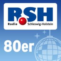 Logo of radio station R.SH 80er