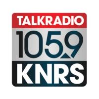 Logo of radio station KNRS Talk Radio 105.9