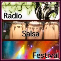 Logo of radio station RSF radio salsa festival