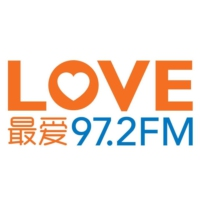 Logo de la radio LOVE 97.2FM