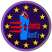 Logo de la radio América Dance 90´s