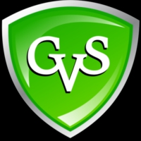 Logo of radio station GVS Radio