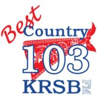 Logo de la radio KRSB-FM Best Country 103