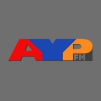 Logo of radio station AYP FM 99.5