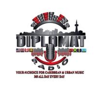 Logo of radio station Diplomat Radio