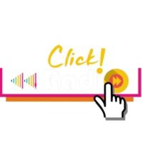 Logo of radio station ClickRadio!