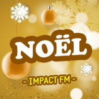 Logo de la radio Impact FM - Noël