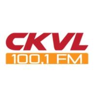 Logo of radio station CKVL 100.1 FM