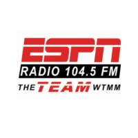 Logo of radio station WTMM-FM 104.5 The Team ESPN Radio