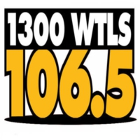 Logo de la radio 1300 WTLS & 106.5 FM