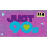 Logo of radio station FFH JUST 90s