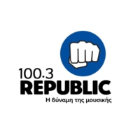 Logo of radio station Republic 100.3