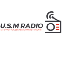 Logo of radio station USM Radio Live