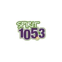 Logo of radio station KCMS Spirit 105.3