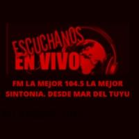 Logo de la radio FM LA MEJOR 104.5