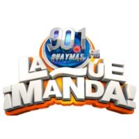 Logo de la radio XHGYS-FM La Que Manda 90.1