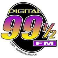 Logo de la radio XHDR Digital 99 1/2 FM