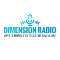 Logo de la radio Dimension Radio