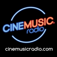 Logo de la radio CINEMUSIC Radio 「100% Soundtracks」 PARIS HD Live