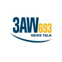 Logo of radio station 3AW 693