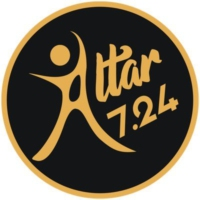 Logo of radio station Altar 7-24