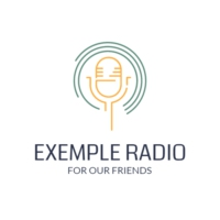 Logo of radio station ExempleRadio